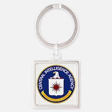 CIA Square Keychain