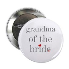 Grandma of Bride Grey Text Button