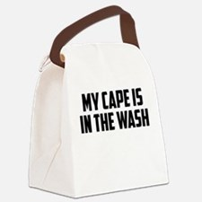 My Cape is In the Wash Canvas Lunch Bag