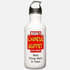 WANG'S CHINESE BUFFET Water Bottle