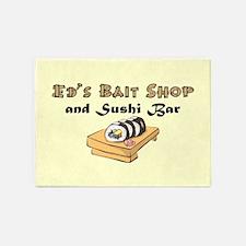ED'S BAIT SHOP 5'x7'Area Rug