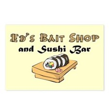 ED'S BAIT SHOP Postcards (Package of 8)