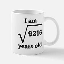 96th Birthday Square Root Mugs