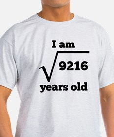 96th Birthday Square Root T-Shirt