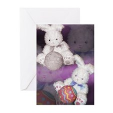 """Ostara """"Easter"""" Bunny w/ Ball Greeting Cards (Pack"""