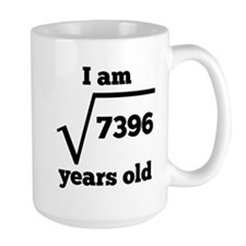 86th Birthday Square Root Mugs
