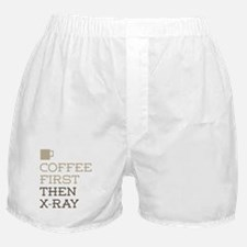 Coffee Then X-Ray Boxer Shorts