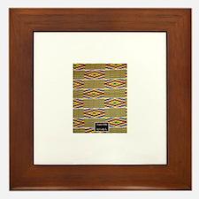 kente Framed Tile