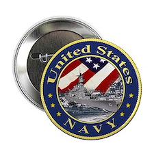 Navy League Button