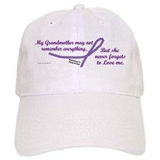 Never Forgets To Love (Grandmother) Baseball Cap