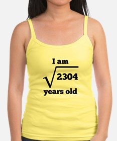 48th Birthday Square Root Tank Top