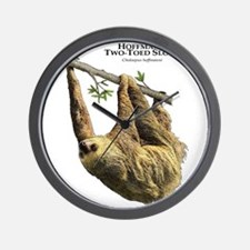 Hoffman's Two-Toed Sloth Wall Clock