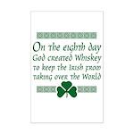 irish whiskey Mini Poster Print