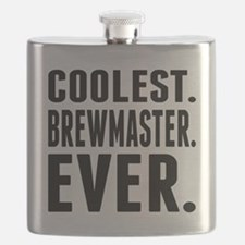 Coolest. Brewmaster. Ever. Flask