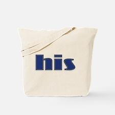 His Denim Tote Bag