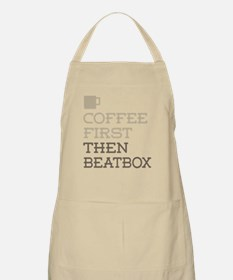 Coffee Then Beatbox Apron