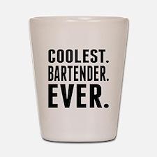 Coolest. Bartender. Ever. Shot Glass