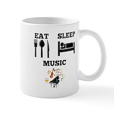 Eat Sleep Music Mugs