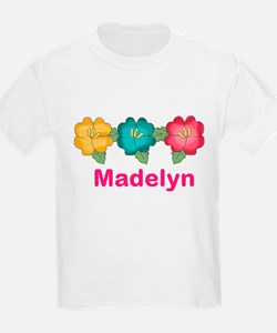 madelyn's tropical flower perso T-Shirt