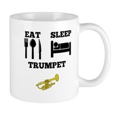 Eat Sleep Trumpet Mugs
