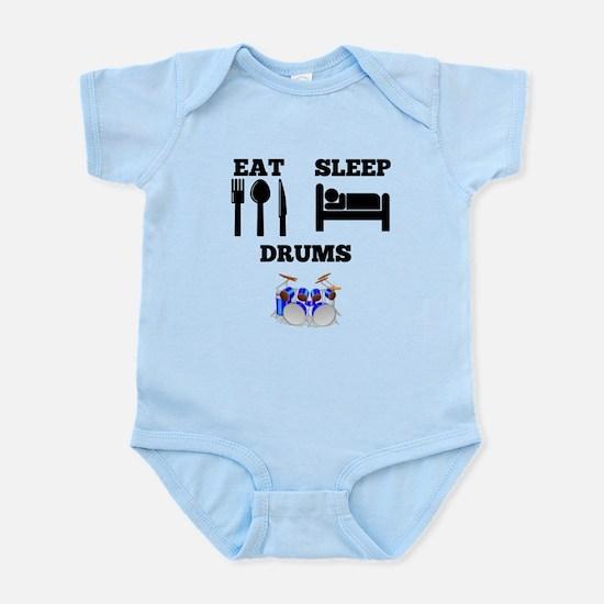 Eat Sleep Drums Body Suit