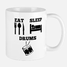 Eat Sleep Drums Mugs