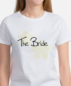 The Bride Yellow Flowers Women's T-Shirt