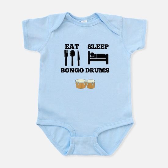 Eat Sleep Bongo Drums Body Suit