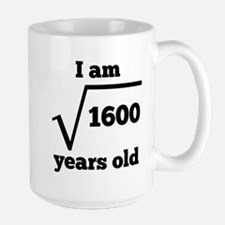 40th Birthday Square Root Mugs