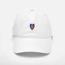 Chakras Balanced Heart Shape Baseball Baseball Cap
