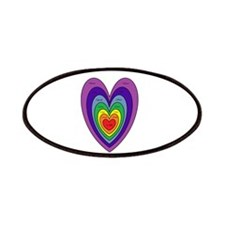 Chakras Balanced Heart Shape Patch