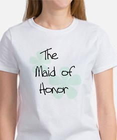 Maid Honor Green Women's T-Shirt