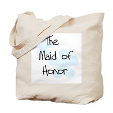 Maid Honor Blue Tote Bag