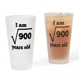 30th birthday Pint Glasses