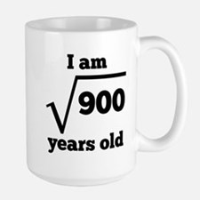 30th Birthday Square Root Mugs