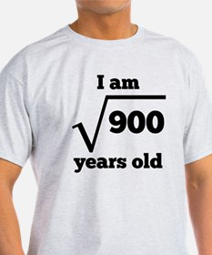 30th Birthday Square Root T-Shirt