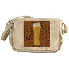Types of Beer Series Print 7 Messenger Bag