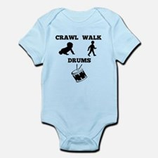 Crawl Walk Drums Body Suit