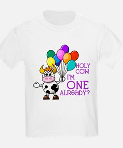 Holy Cow, I'm ONE already? (Purple) T-Shirt