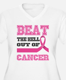 Beat Cancer Plus Size T-Shirt