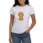 Orange Tabby Cat Princess Women's T-Shirt
