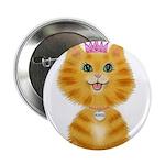 Orange Tabby Cat Princess 2.25