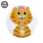 Orange Tabby Cat Princess 3.5
