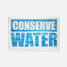 Cute Conserve water Rectangle Magnet