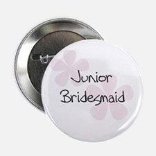 Jr. Bridesmaid Pink Button