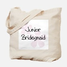 Jr. Bridesmaid Pink Tote Bag