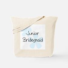 Jr. Bridesmaid Blue Tote Bag