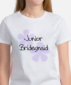 Jr. Bridesmaid Lilac Women's T-Shirt