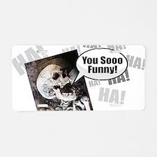 Cute Mens zombie Aluminum License Plate