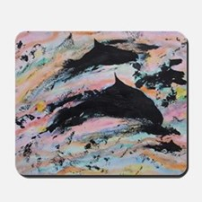 Under the waves Mousepad
